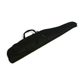 Чехол для ружья LeRoy Protect (двойная защита) 1,1 м Чёрный
