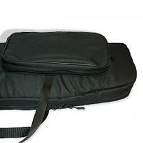 Чехол для ружья c оптикой LeRoy Protect Optic (двойная защита) 1,2 м Чёрный, фото 2