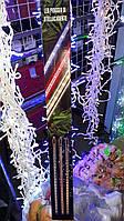 Светодиодная гирлянда Тающая сосулька, Метеоритный дождь, 50 см, белая, Харьков, фото 1