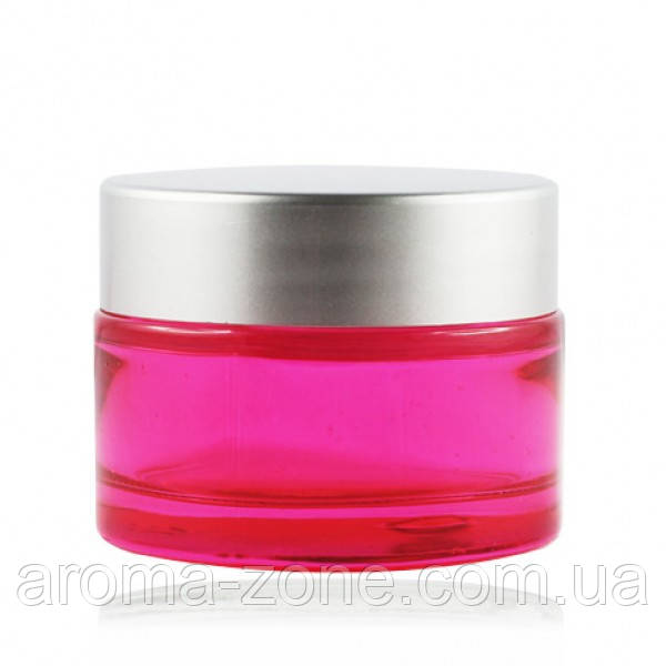 Баночка стеклянная ( розовый  )   , 30 мл.