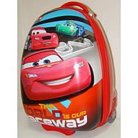 """Детский чемодан на колесах """"Тачки"""" для мальчиков 3- 8 лет"""