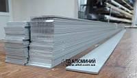 Алюминиевая полоса 30х2, анод серебро