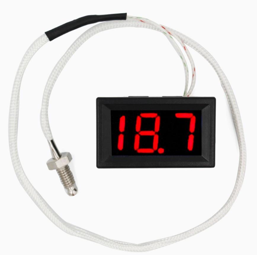 Термометр электронный XH-B310 от -30 до 800 °C 12В (красные цифры)