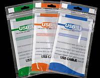 Пакет для упаковки USB кабеля 160х85 мм