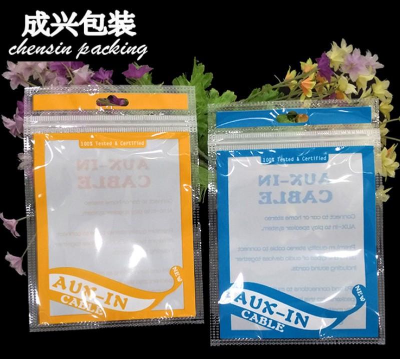 Пакет для упаковки AUX кабеля 100х145 мм