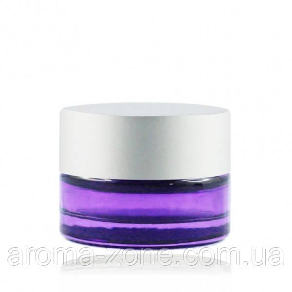 Баночка стеклянная ( фиолетовый )   , 5 мл.