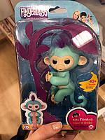 Оригинал! Fingerlings Monkey! Интерактивная ручная обезьянка! WOWWEE! Гарантия!