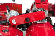 Мотоблок дизельний WEIMA WM610AЕ DeLuxe ( 9 к. с., 6+2 шв., електростартер, 4.00-8), фото 3