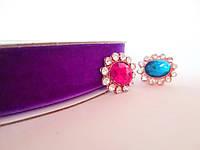 Лента бархатная, 2 см, цвет фиолетовый, 1 м.