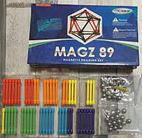 Магнитный конструктор 89 деталей