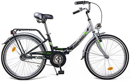 """Велосипед складной 24"""" West Bike для подростков и взрослых (Польша), фото 2"""