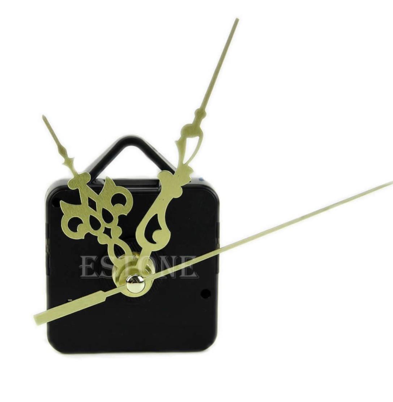Механизм для часов Золотистые стрелки