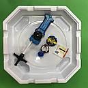 Арена для бейблейдов + бейблейд  Xeno Xcalibur Екскалибур пластиковый жгут и запускалка, фото 2