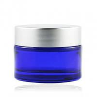 Баночка стеклянная ( синий  )   ,30 мл.