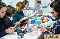 Вязание из трикотажной пряжи - модное современное хобби