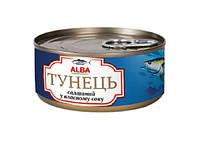 Тунец в собственном соку ALBA FOOD целый