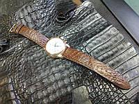 Ремешок из Крокодила для часов Buran