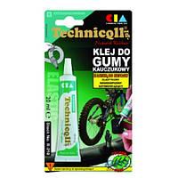 Клей для гуми Technicqll 20мл R-310 на основі каучуку (камери, гум шланги НД, надувн. матраци)