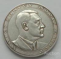 Германия. Третий Рейх. настольная медаль Гитлер Ein Volk Ein Reich Ein Führer