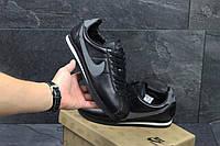 Кроссовки женские демисезонные Nike Cortez черно-серые