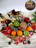 Корзина подарункова фруктова