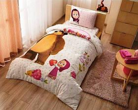 Детское постельное белье TAC Disney Masha and the bear super berry