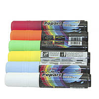 Флуоресцентные маркеры для светодиодной доски жидкий мел 6 цветов 10мм