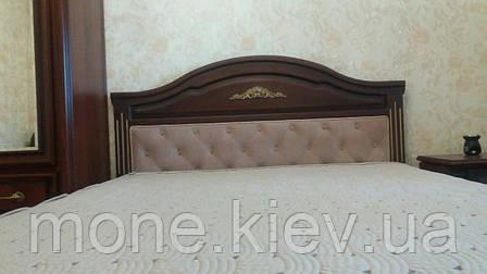 """Кровать """"Клеопатра"""" двуспальная из натурального дерева, фото 2"""