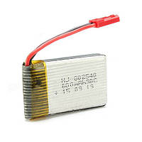 Аккумулятор напряжением 3,7Вольта и емкостью 600mAh для Jxd509V, Jxd509W (размеры в описании)