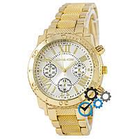 Золотые мужские наручные часы майкл корс, часы Michael Kors (реплика)