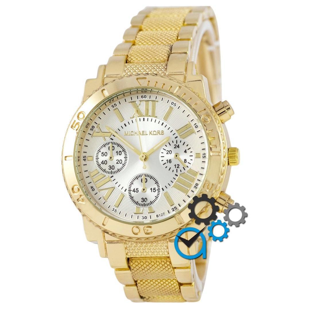 82d44ce3 Золотые мужские наручные часы майкл корс, часы Michael Kors (реплика ...