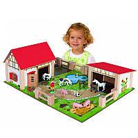 Игровой набор Ферма с животными Eichhorn 4308