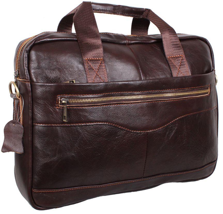 2ab42b96d5b1 Мужская кожаная сумка DOV-1118-2BROWN коричневый — только ...