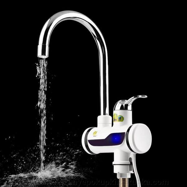 Водонагреватель проточный  instant electric water heater, с монитором. Боковое подключение