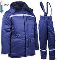 Теплый полукомбинезон с курткой