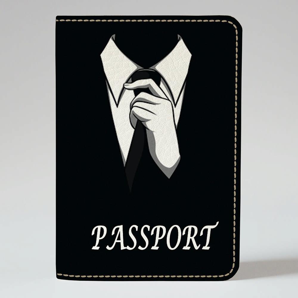 Обложка на паспорт v.1.0. Fisher Gifts 05 Джентльмен (эко-кожа)