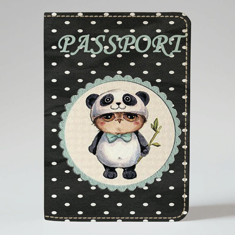 Обложка на паспорт v.1.0. Fisher Gifts 03 Совушка (эко-кожа)