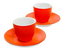 """FD-17 Кофейный набор """"Колумбия для двоих"""" оранж"""