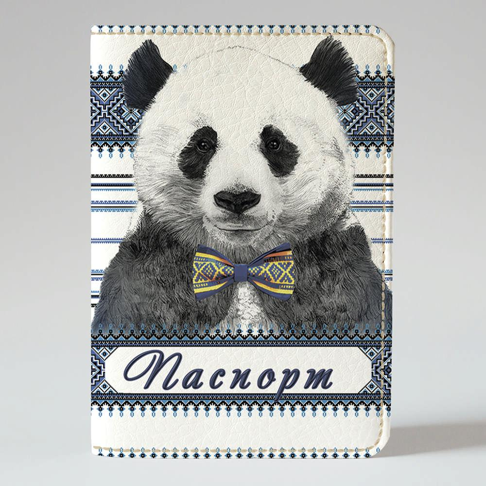 Обкладинка на паспорт v.1.0. Fisher Gifts 22 Панда (еко-шкіра)