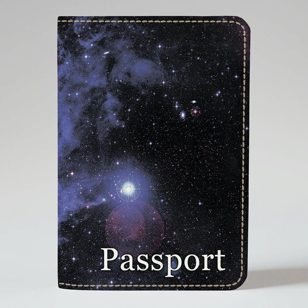Обложка на паспорт v.1.0. Fisher Gifts 38 Космос (эко-кожа)