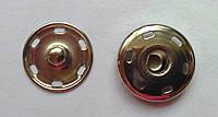 530101 Кнопка пришивная металл (никель) 21 мм