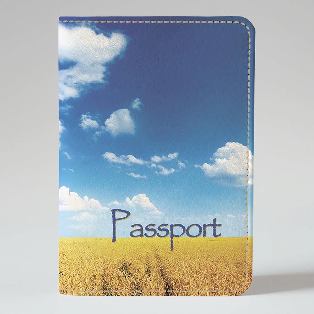 Обложка на паспорт Fisher Gifts 48 Украинское поле (эко-кожа)