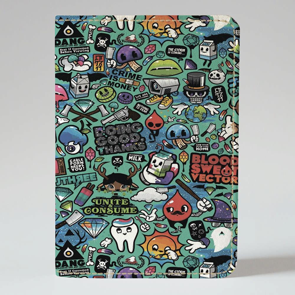 Обложка на паспорт Fisher Gifts 85 Creative (эко-кожа)