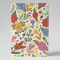 Обложка на паспорт v.1.0. Fisher Gifts 94 Весенний колорит (эко-кожа)
