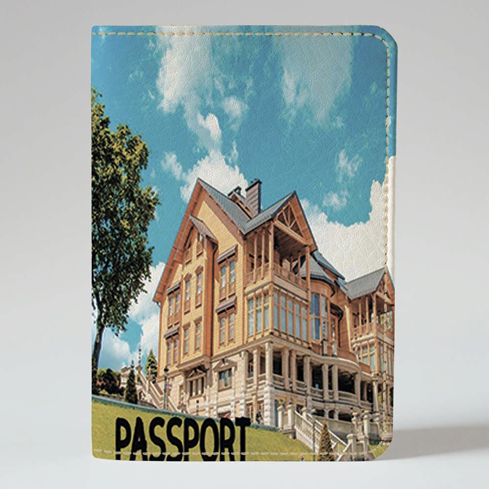 Обложка на паспорт Fisher Gifts 95 Межигорье (эко-кожа)