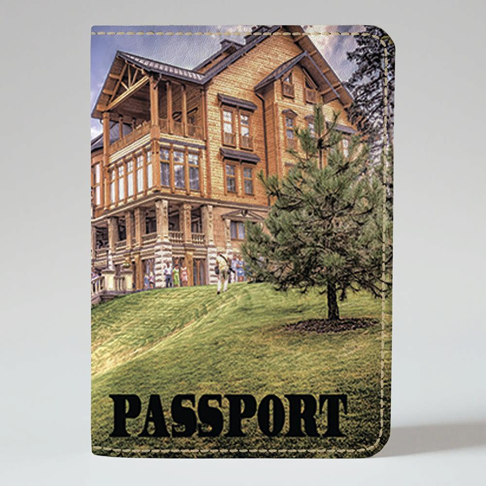 Обложка на паспорт Fisher Gifts 96 Межигорье 2 (эко-кожа)