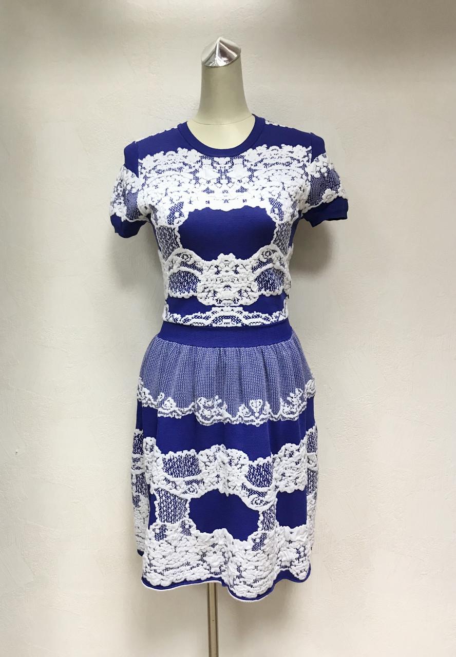 Платье Givenchi короткое трикотаж молодежное цветное