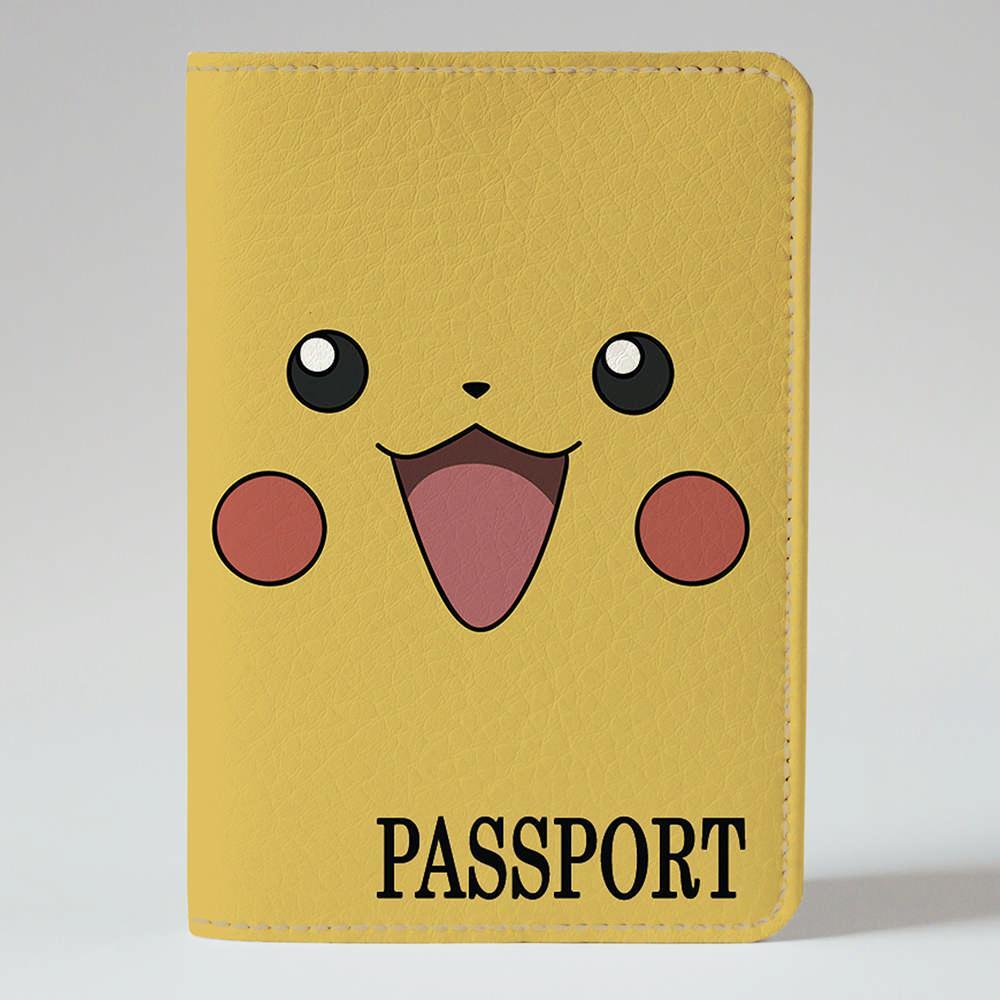 Обложка на паспорт Fisher Gifts 136 Пикачу (эко-кожа)