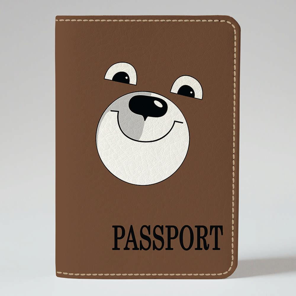 Обложка на паспорт Fisher Gifts 150 Тэдди бир (эко-кожа)