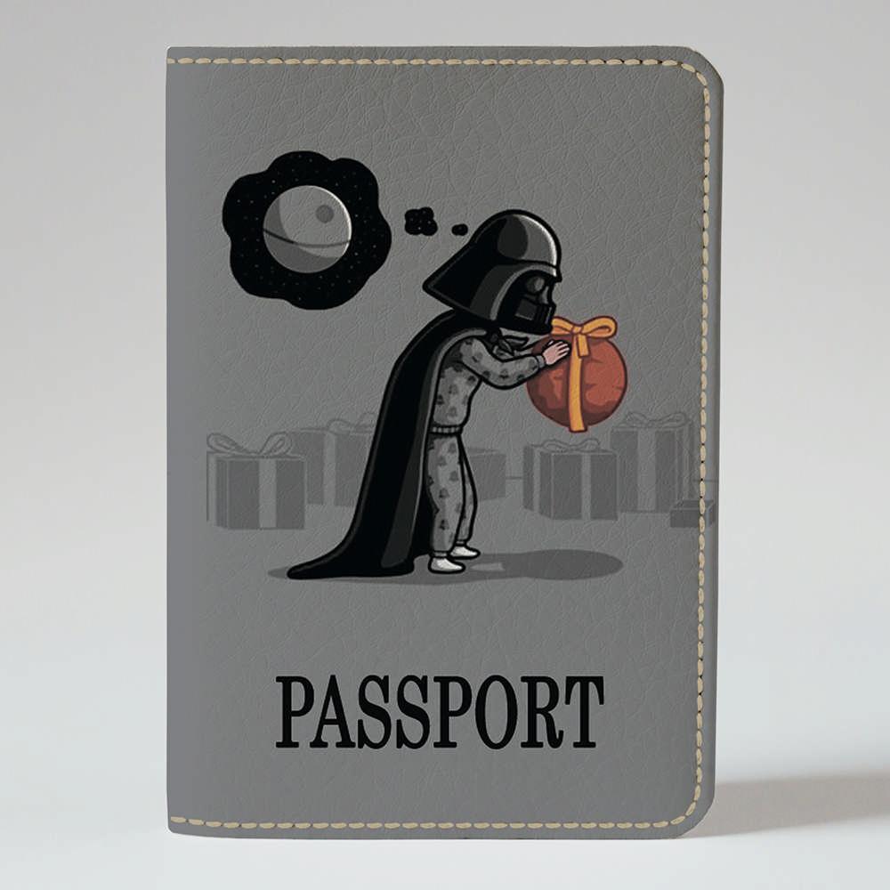 Обложка на паспорт Fisher Gifts 153 Маленький Дарт Вейдер (эко-кожа)